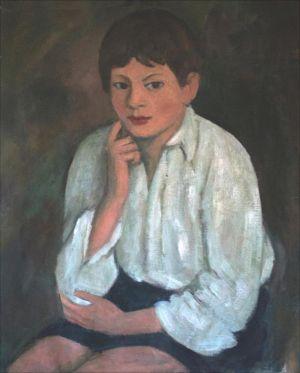 Théodoe Ambroselli  chemise blanche