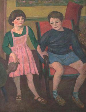 Théodore  et Flore Isorni