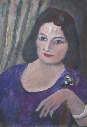 Flore Isorni robe viollette