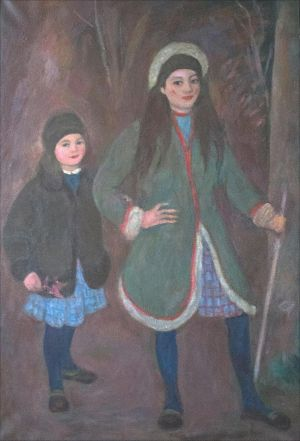 L'orée du bois avec Antonella et Lucia