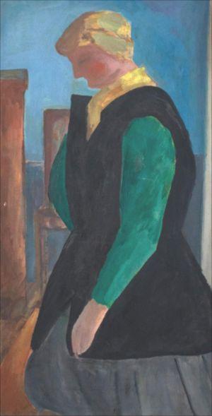 Monique Isorni de profil