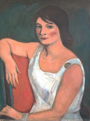Flore Isorni robe blanche