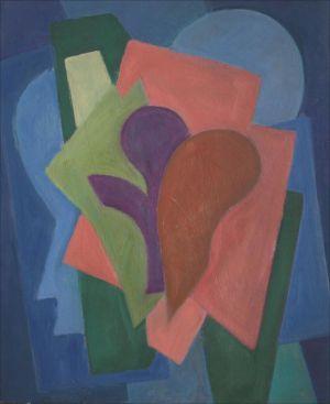 Composition trèfle violet