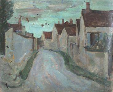 La rue qui monte à Savigny