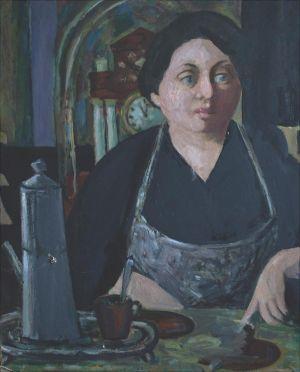 Cesarina, tante de l'artiste ( Tessin )