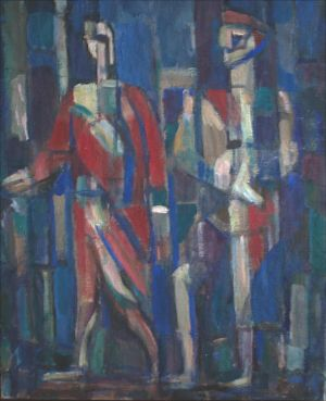Personnages cubistes
