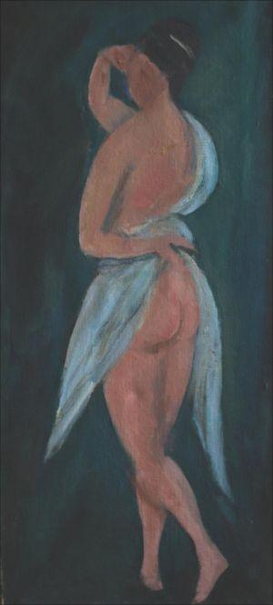 Figure au drap