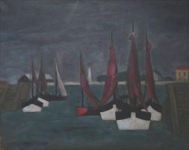 Marine , les bateaux