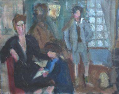 Pierre, Monique, Benito, Flavie Isorni