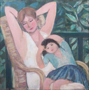 Monique et Flavie Isorni ( Villers sur mer )