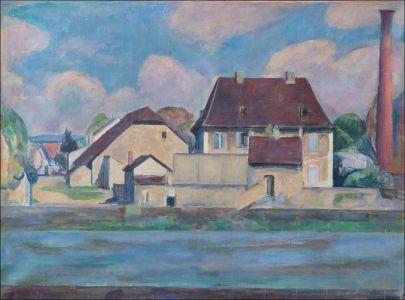 Village de Franche Comté (Isle sur le Doubs)