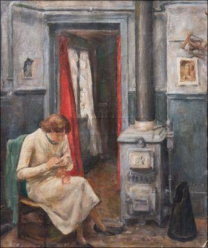 Monique Isorni scène d'atelier