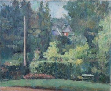 """Jardin de la """"Louisianne"""" Villers sur mer"""
