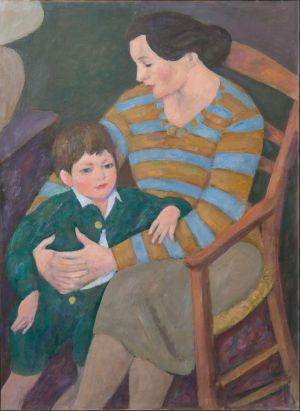 Marie Madeleine Desvallières et Théo Isorni