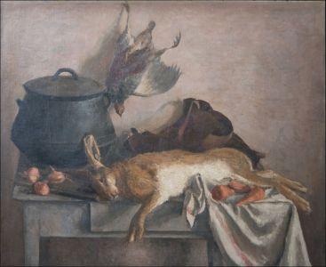 Le lièvre , retour de chasse