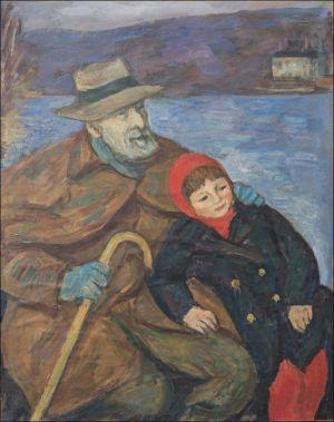 George Desvallières et Théo Isorni