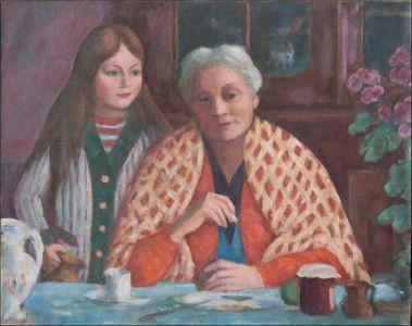 Marie-Madeleine Desvallières et Antonella Ambroselli