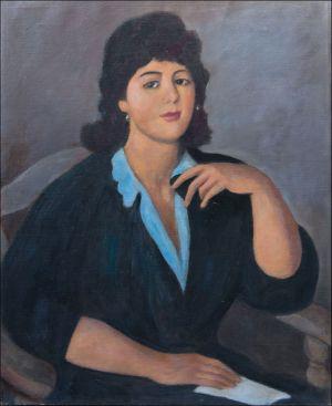 Jeune femme andalouse