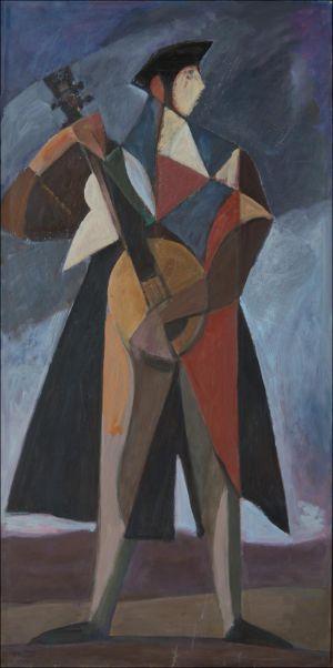 L'homme à la mandoline
