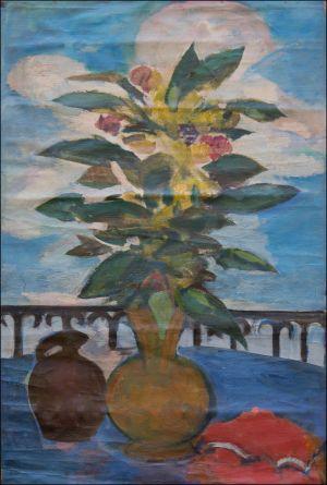 Bouquet sur la terrasse