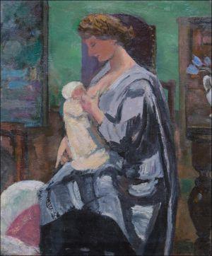 Monique Isorni, naissance de Flavie