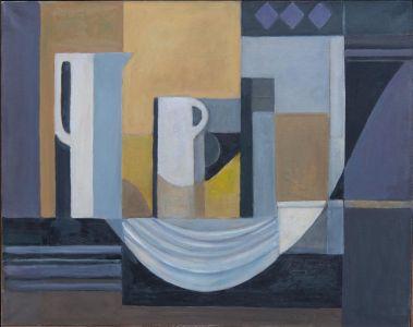 Abstrait : noir et jaune