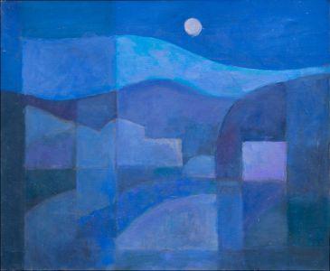 Abstrait : Terre de lune en Andalousie