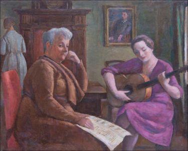 Margueritte et Marie Madeleine Desvallières