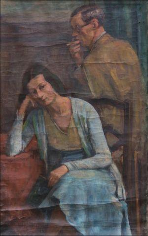 Monique et Jean Isorni