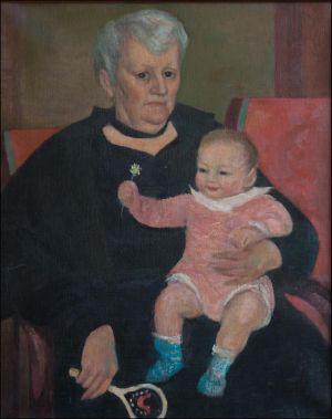 Marguerite Desvallières et Benoît Isorni