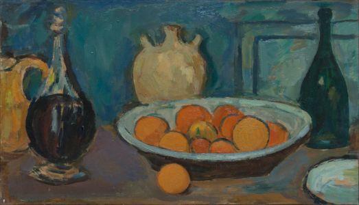Oranges et carafe