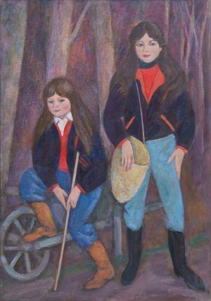 Antonella et Lucia Ambroselli, la brouette