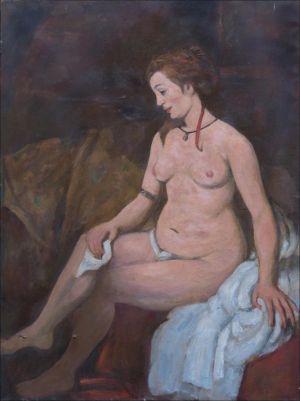 Bethsabée au bain d'après Rembrandt