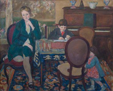 Monique, Benoît et Flavie Isorni