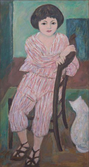 Flavie Isorni en pyjama