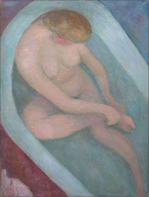 Monique au bain