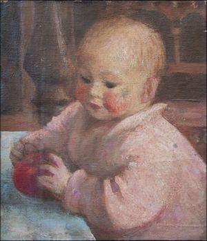 Benoît Isorni bébé