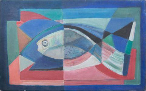 Abstrait au poisson