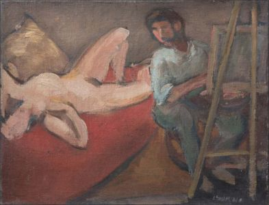 Le modèle et l'artiste
