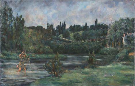 """""""Le tournant de la Seine ( Seine-Port) """"""""Pierre qui roule n'amasse pas mousse"""""""""""""""